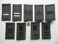 Irish Defence Forces, IDF,  Army Rank Epaulette Badges, NCO ranks,  New.