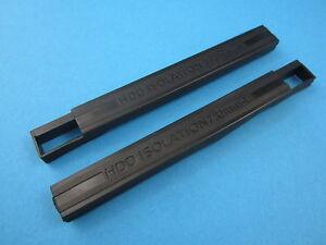 Dell Latitude E6540 E6330 Gummi Leisten  HDD Gummidichtung 7mm Rubber Rail L+ R