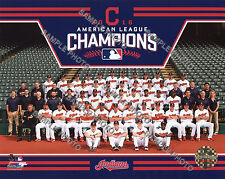 Cleveland Indians 2016 American League Champions Sit Down 8x10 Team Photo