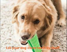 Dog Toothbrush Toy Clean Teeth Brushing Stick Pet Brush Mouth Chewing Clean UK