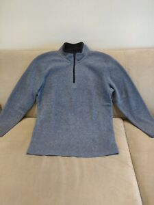 OLD NAVY Boys' Gray Polyester Long Sleeve Sweater, size 10/12