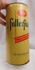 Vintage Fuller Brush Company Can Fuller Foam Fullerfoam Original Product Can
