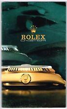 Rolex vintage 1987 OYSTER LIBRETTO CATALOGO 16753 16800 1016 16550 6265 6263 GMT