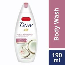 Dove Coconut Milk and Jas Petals Body Wash, 190ml + Free Shipping