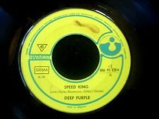 DEEP PURPLE/SPEED KING/INTO THE FIRE/HARVEST/GERMAN SP 7""