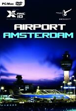 Airport Amsterdam for X-plane 10 PC DVD Flight Simulator Game