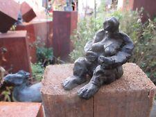 Bronze Urweib Frau Skulptur Plastik Sonja Zeltner-Müller  x/10 Düsseldorf