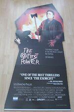VINTAGE 1990 FIRST POWER PROMOTIONAL MOVIE STANDEE JMSR21