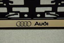 2 x Kennzeichenhalter Audi Kennzeichenhalterung Nummernschildhalter kfz NEU