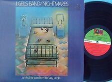 J. Geils Band ORIG OZ LP Nightmares NM '74 Atlantic Blues rock