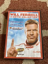 Will Ferrell 3-Movie Collection (DVD, 2014, 3-Disc Set)