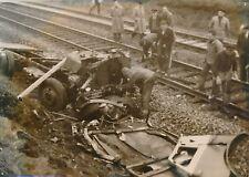 Faits Divers c. 1955 - Accident Férroviaire Chute du Pont Seclin Nord - PR 197