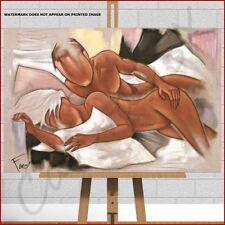 Contemporary (1980-Now) Canvas Portrait Art Prints