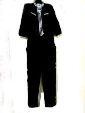 Vice Houndstooth black   jumpsuit
