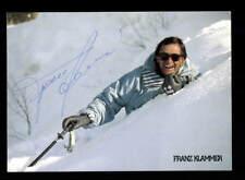Franz Klammer Autogrammkarte Original Signiert Skialpin + A 201023
