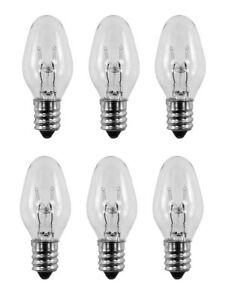 Highest Quality (6 Pack) 15 Watt NIGHT LIGHT Bulb Fits Plug-In Scentsy Warmer