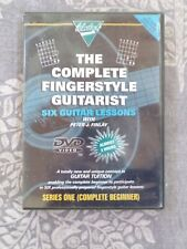 Wansbeck Complete Fingerstyle Guitarist by Peter J. Finlay DVD