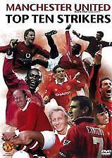 Manchester United DVD Top Ten Strikers - SOCCER FOOTBALL