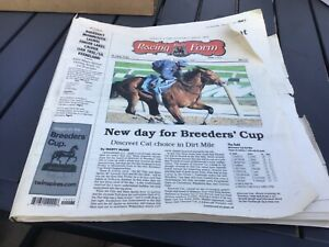 2007 breeders cup daily racing form pps drf past performances handicapping horse