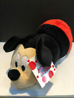 "Disney Flip A Zoo Mickey Mouse to Minnie Mouse Flipazoo 14"" Plush NEW"