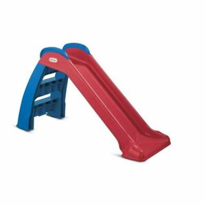 🔥 Little Tikes First Slide (Red/Blue) - Indoor / Outdoor Toddler Toy