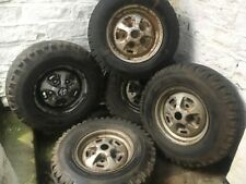 Classic Range Rover Wheels Rostyle X5 With Tyres Land Rover