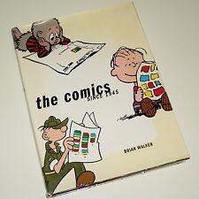 THE COMICS SINCE 1945 - Brian Walker vintage carton / comic artwork. H/B D/J VGC