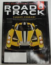 Road & Track Magazine Ferrari & Nissan's New Race Car May 2015 051615R