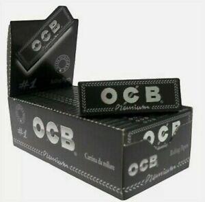 2500 Cartine Corte  Ocb Nero 1 Box Da 50 Libretti