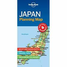 Lonely Planet Japan Planning Map - Sheet map, folded NEW Planet, Lonely 01/07/20