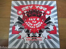 "JAY C VS THE ROCK STEADY CREW - HEY YOU 12"" RECORD / VINYL - NEBULA - NEBTX087"