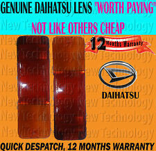 FOR DAIHATSU SPORTRAK 1.6 F300/10 01/89-04/98 REAR BUMPER LAMP LENS LIGHT PAIR