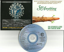 RARE PROMO CD PEARL JAM Say Anything DIO Lacuna Coil ROB ZOMBIE Enslaved PANTERA