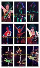 9- 4x6 inch original photos   AC/DC  ANGUS YOUNG