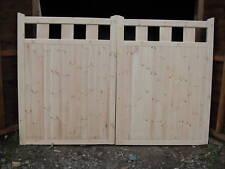 wooden driveway gates 6ft h x12 ft w walton privacy gates