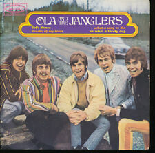 Ola And The Janglers Let's Dance + 3 Brazil EP With Picture Sleeve 1969 Original