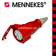 MENNEKES CEE-Kupplung 5-polig 400V 32A Typ6  rot (Made in Germany)