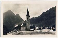 Vorarlberg SCHRÖCKEN Bregenzer Wald / Kirche * Foto-AK um 1930