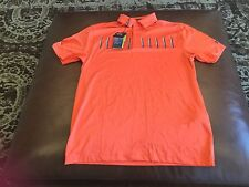 Under Armour Golf Coldblack men's heatgear loose fit polo shirt,size M,NWT!