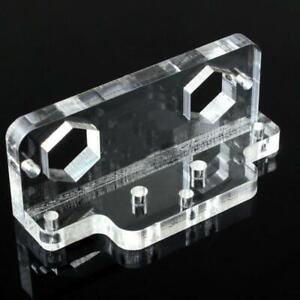 100A/350A PMMA Sampler Transparent Base Coulomb Counter Sampler Crystal Base