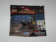 LEGO #5002145 Marvel's Guardians of the Galaxy Rocket Raccoon SEALED Polybag