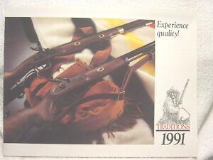 TRADITIONS MUZZLELOADER 1991 gun catalog