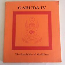 New ListingGaruda Iv The Foundations of Mindfulness by Chogyam Trungpa Buddhism