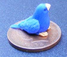 1:12 Scale Polymer Clay Light & Dark Blue Bird Tumdee Dolls House Accessory  F