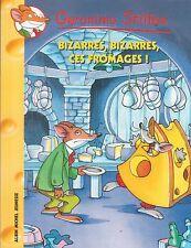 GERONIMO STILTON 50 Bizarres bizarres ces fromages !  livre jeunesse