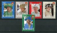 Kiribati 2016 MNH Queen Elizabeth II 90th Birthday Anniv 5v Set Royalty Stamps