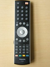 Toshiba TV DVD VIDEO VCR telecomando ct-8002 32wlt66 2av555d, copertina posteriore rotto