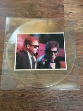 ❣RARE❣UNCUT TP PICTURE DISC•Wrap Her Up~Elton John ft George Michael (Wham)
