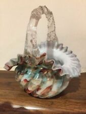 Vase Hand Blown Glass Multi