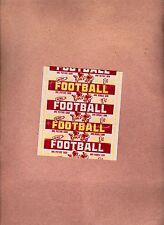 1952  Topps Football 1 cent  Wrapper - High Grade - Beautiful!
